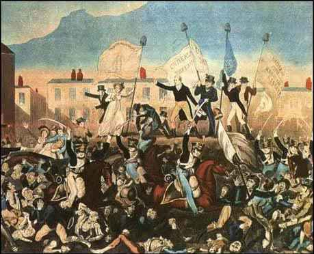 peterloo massacre 1819