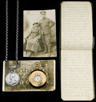 Walter Hutchinson's war diary of the Battle of the Somme
